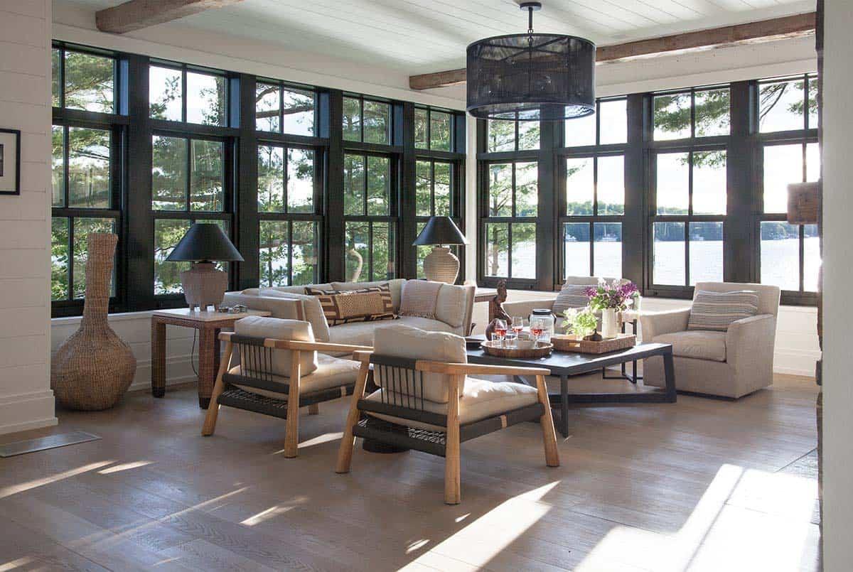 Rustic Modern Lake House-Anne Hepfer Designs-07-1 Kindesign