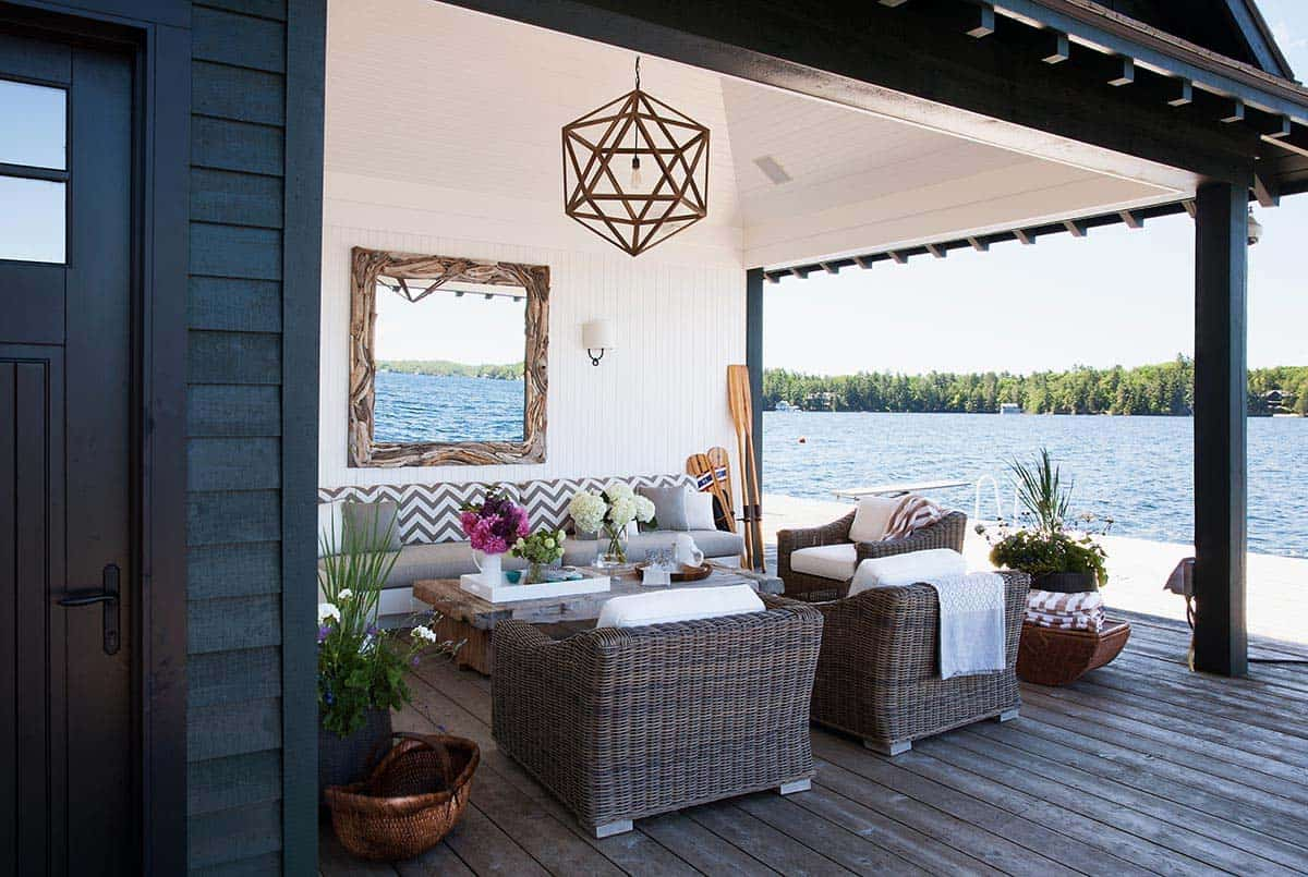 Rustic Modern Lake House-Anne Hepfer Designs-05-1 Kindesign