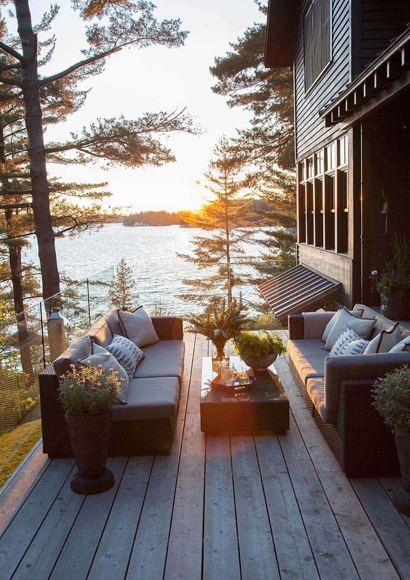 Rustic Modern Lake House-Anne Hepfer Designs-09-1 Kindesign