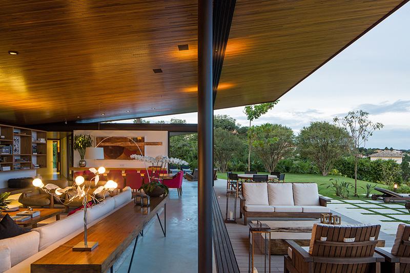 Salon extérieur A-House