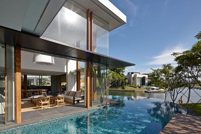 Salle de séjour Sentosa Cove Houseliving