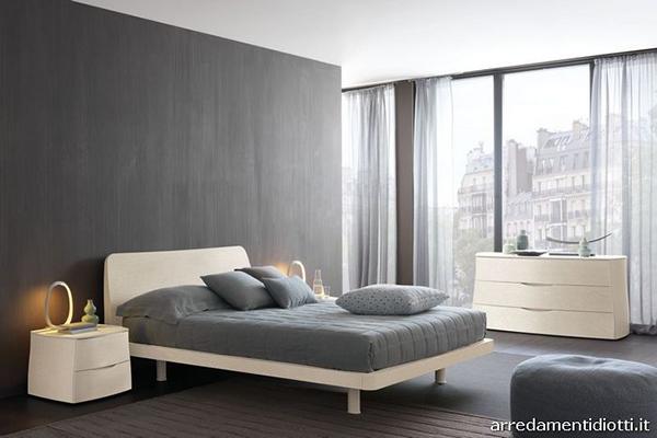 Chambres gris blanc