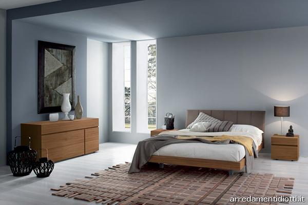 conception de chambre à coucher géométrique