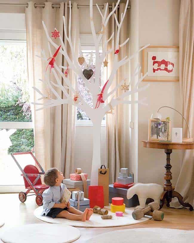 Maison de Noël magnifiquement décorée-03-1 Kindesign