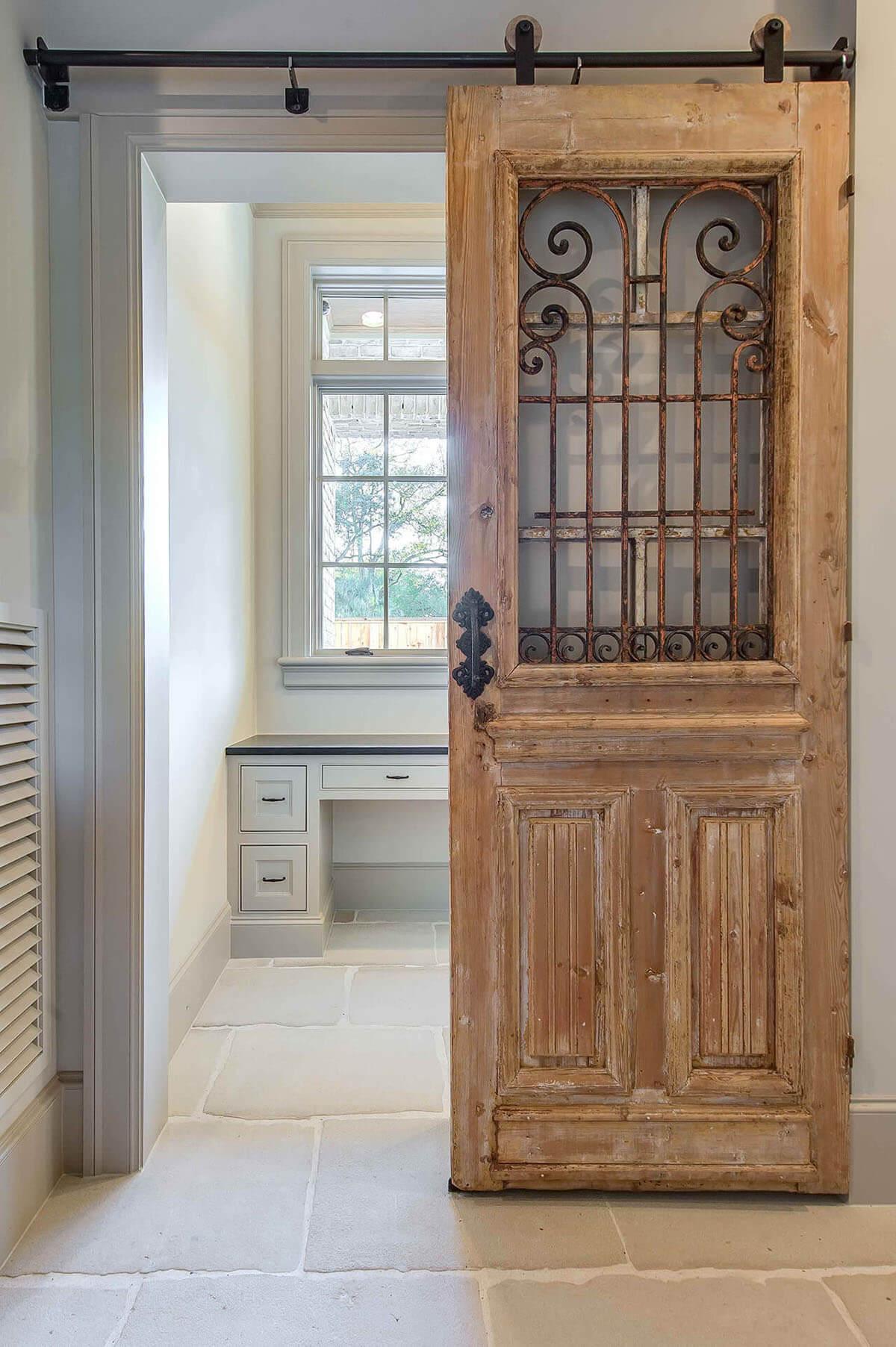 Portes de salle de bain coulissantes Barnyard Versailles