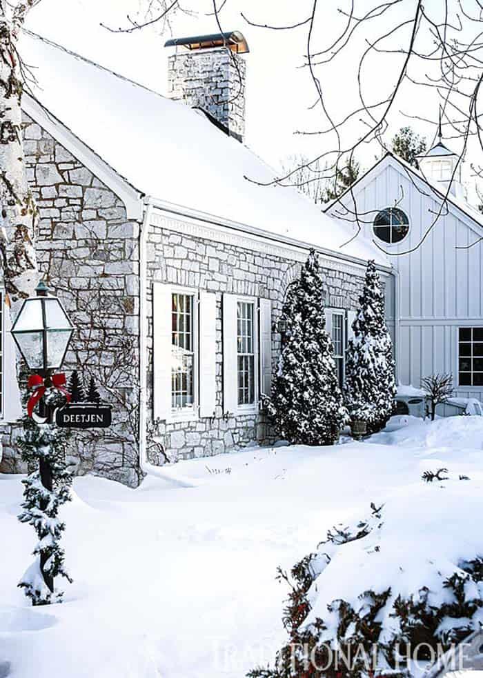 Décoration de Noël en pierre Cottage-11-1 Kindesign