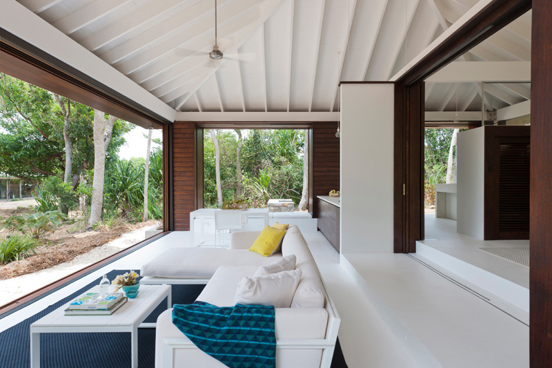 maison de plage tropicale