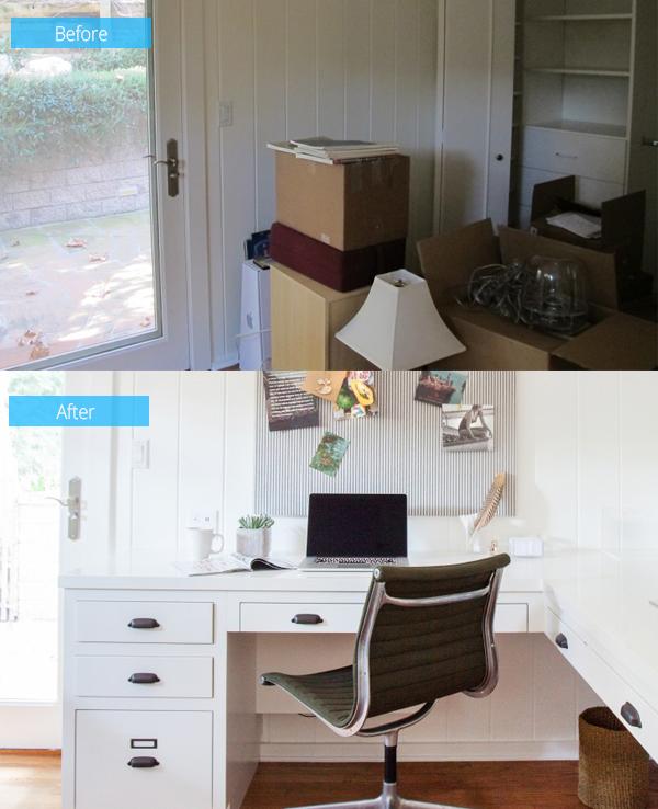 espace de bureau fonctionnel
