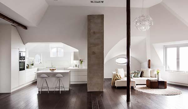 Conception de la maison en Suède
