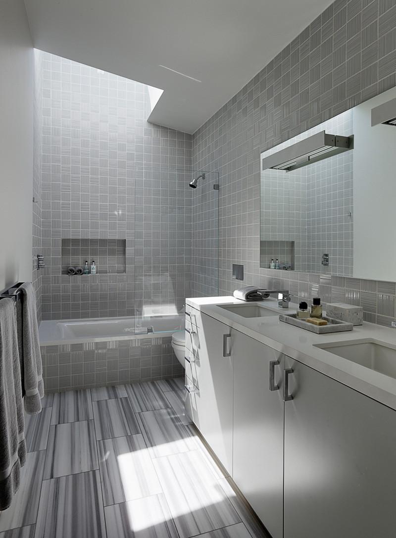 Shou Sugi Ban Revêtement de la salle de bain 2