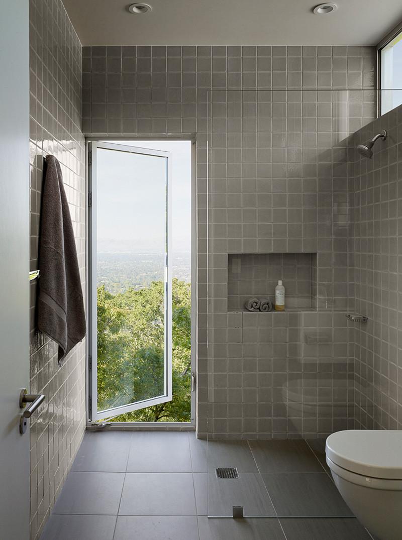 Shou Sugi Ban Revêtement de la salle de bain 3