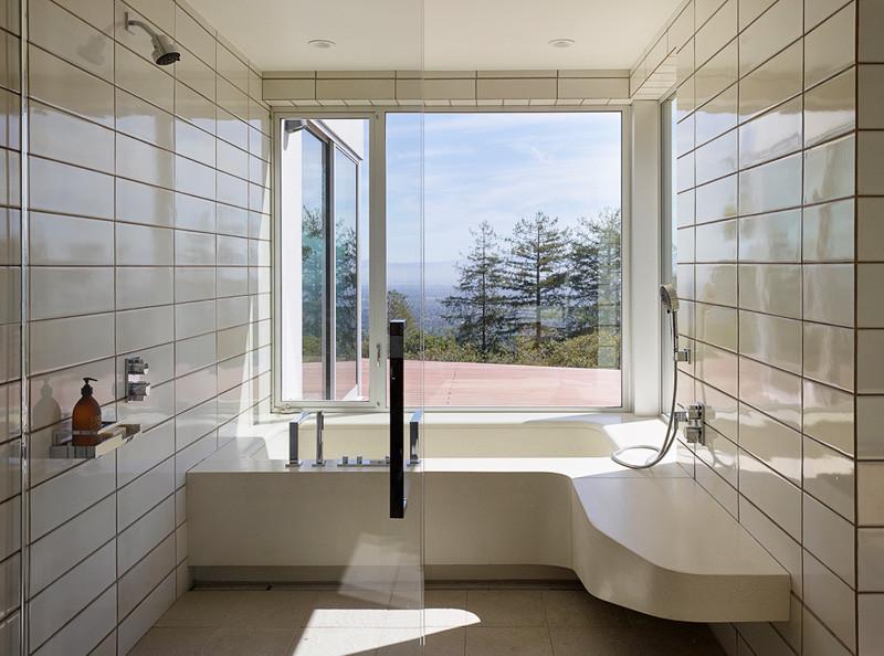 Salle de bain Shou Sugi Ban Siding