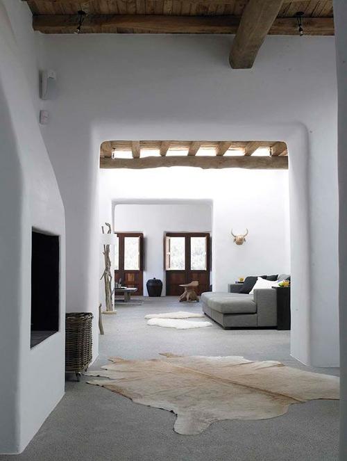 Intérieur d'une maison méditerranéenne