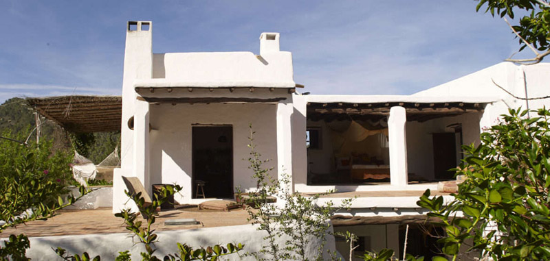 Architecture classique des maisons d'Ibiza