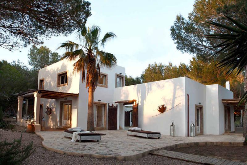 Maison de campagne de style méditerranéen