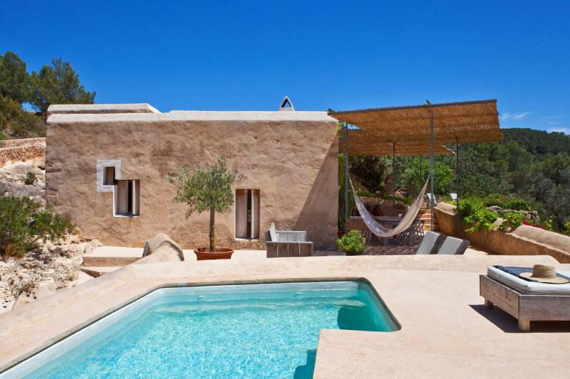 Maison typiquement méditerranéenne