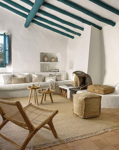 Design d'intérieur de style méditerranéen