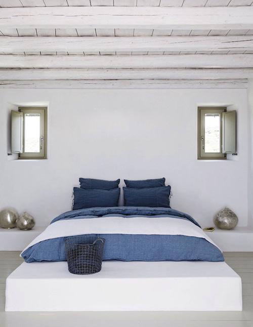 La couleur bleue dans la décoration méditerranéenne