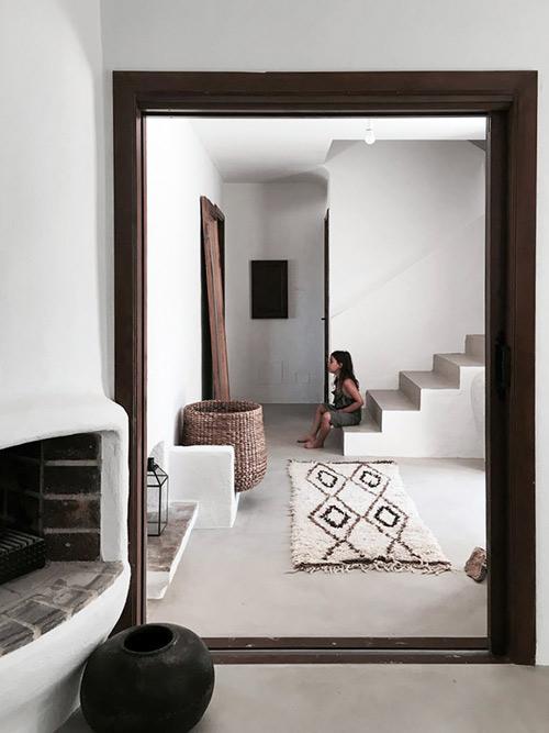 Décoration intérieure avec tapis