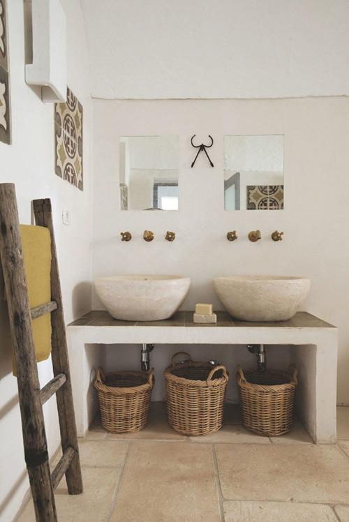 salle de bain d'une maison à Ibiza