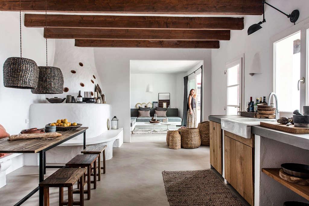cuisine dans une maison à Majorque