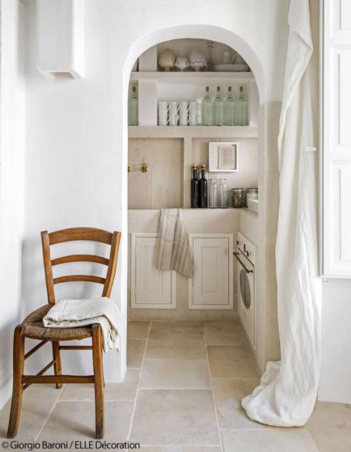 la cuisine dans les maisons méditerranéennes