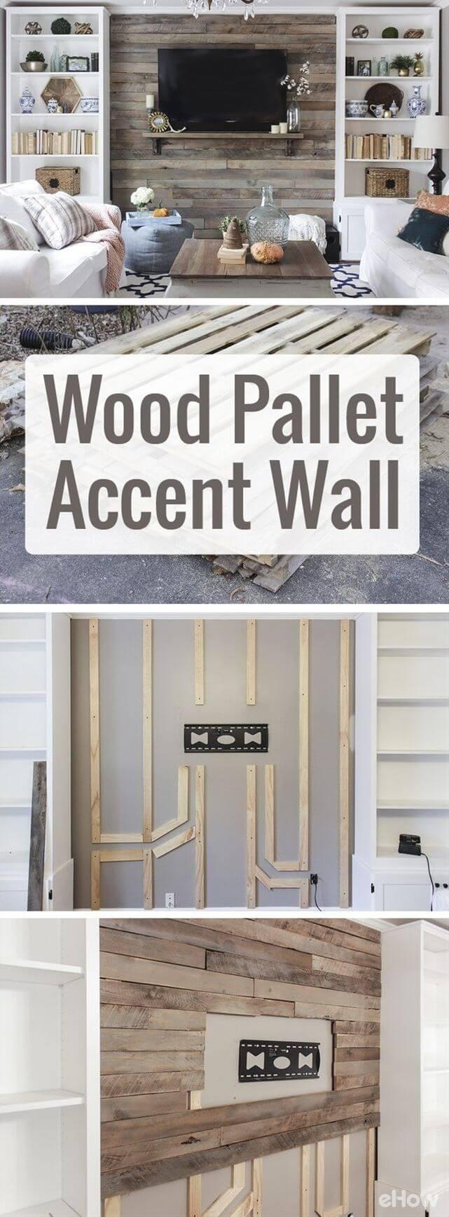 Sauvez cette palette en bois!  Mur de bois