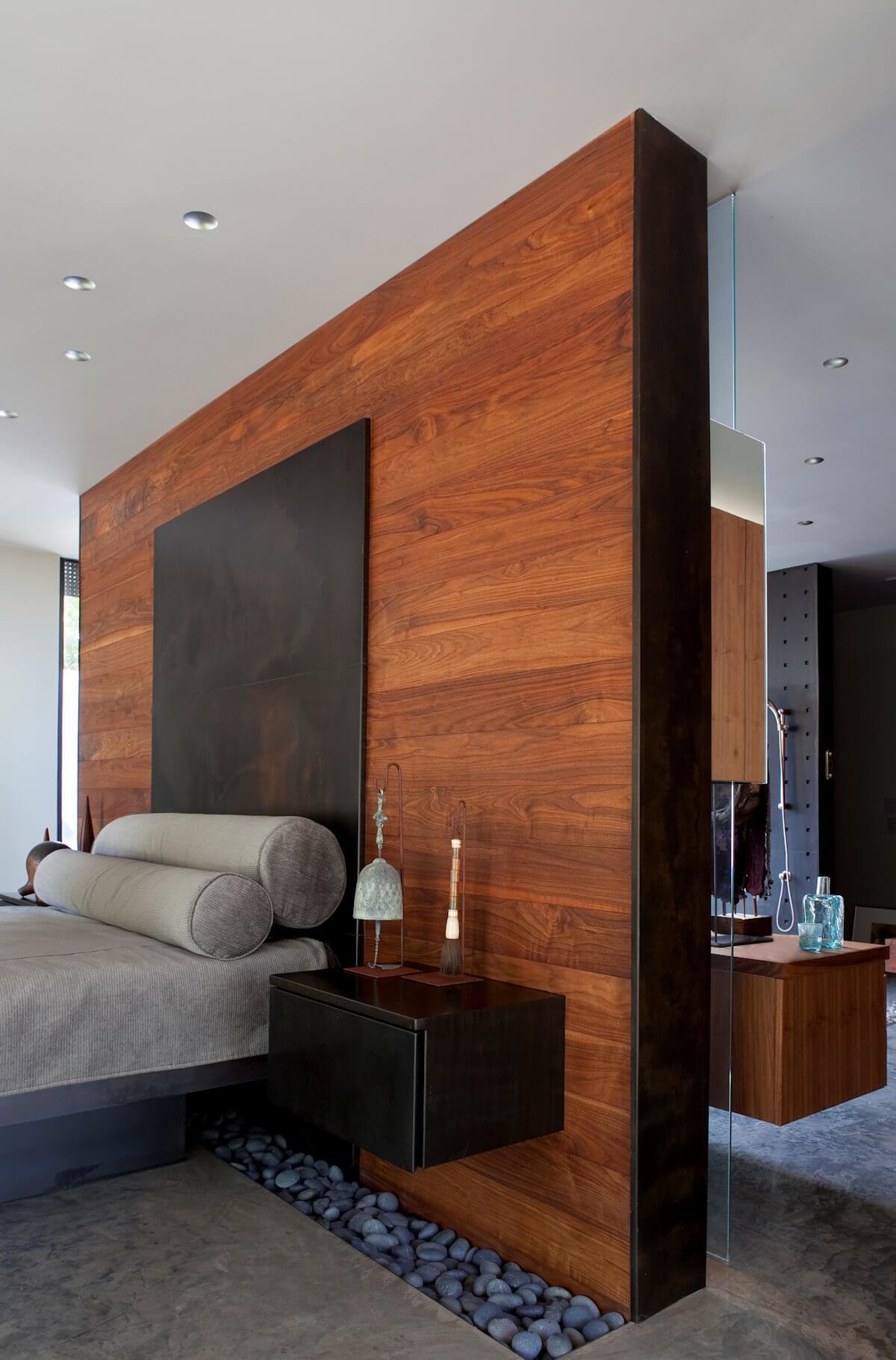 Mur de bois Zen Divider