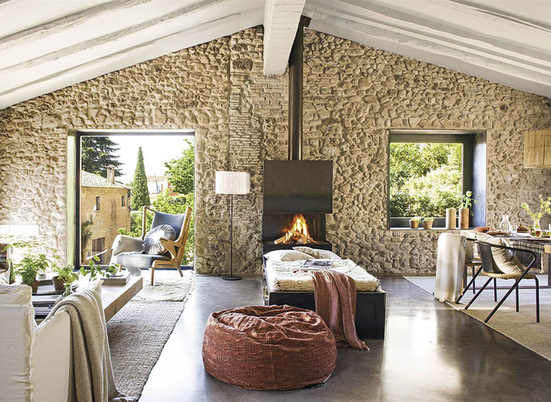 idées pour décorer une maison de montagne