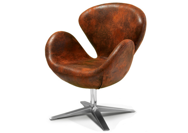 Chaise d'appoint marron