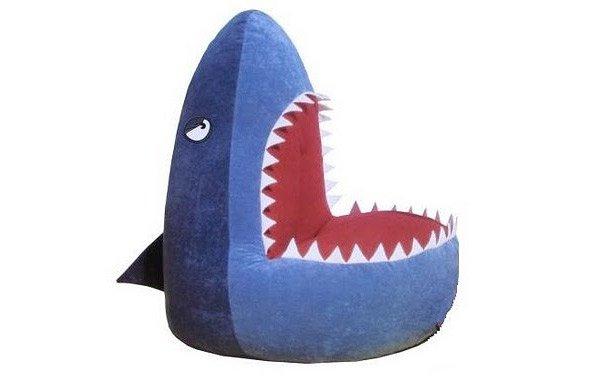 sacs de haricots de requin