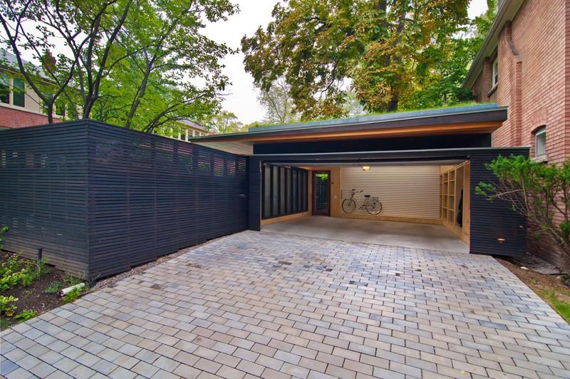 Rénovation du garage de clôture