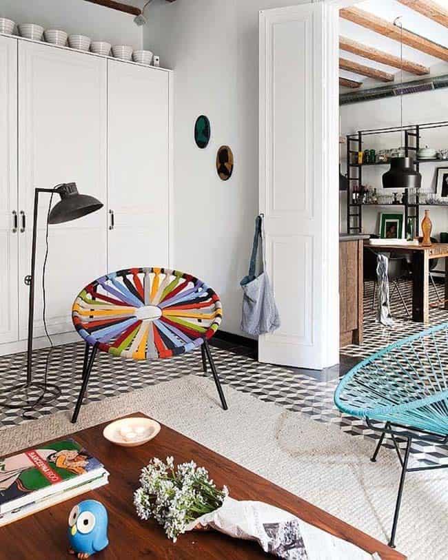 Appartement rétro-moderne-Egue y Seta-03-1 Kindesign