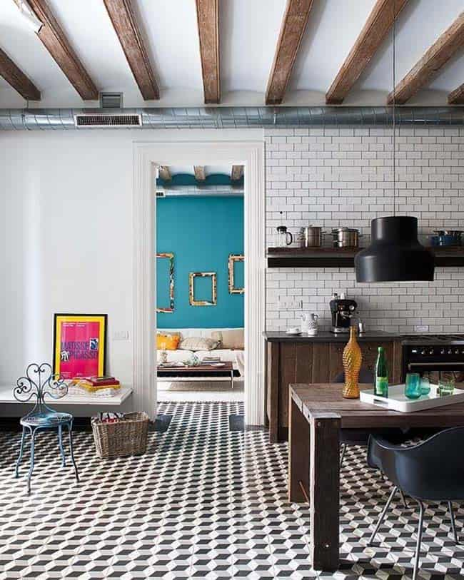 Appartement rétro-moderne-Egue y Seta-05-1 Kindesign