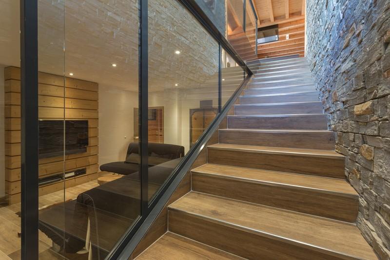 Escaliers de la maison Chalet France