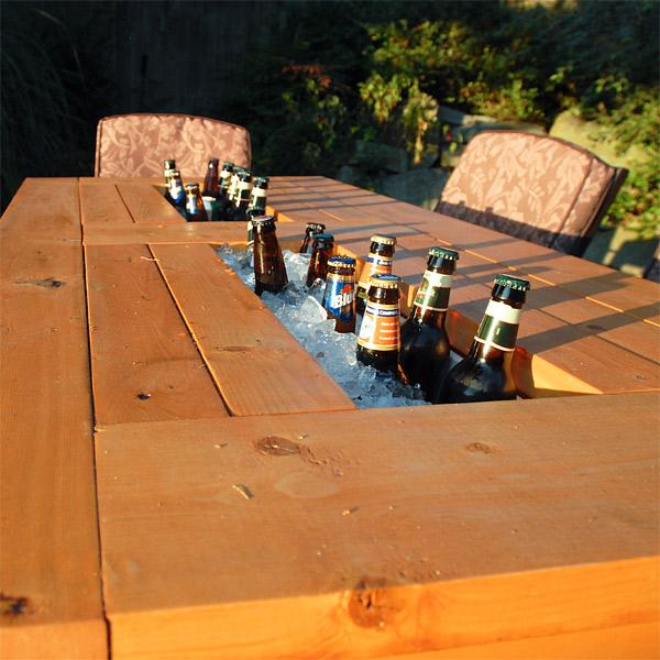 conception de table intégrée