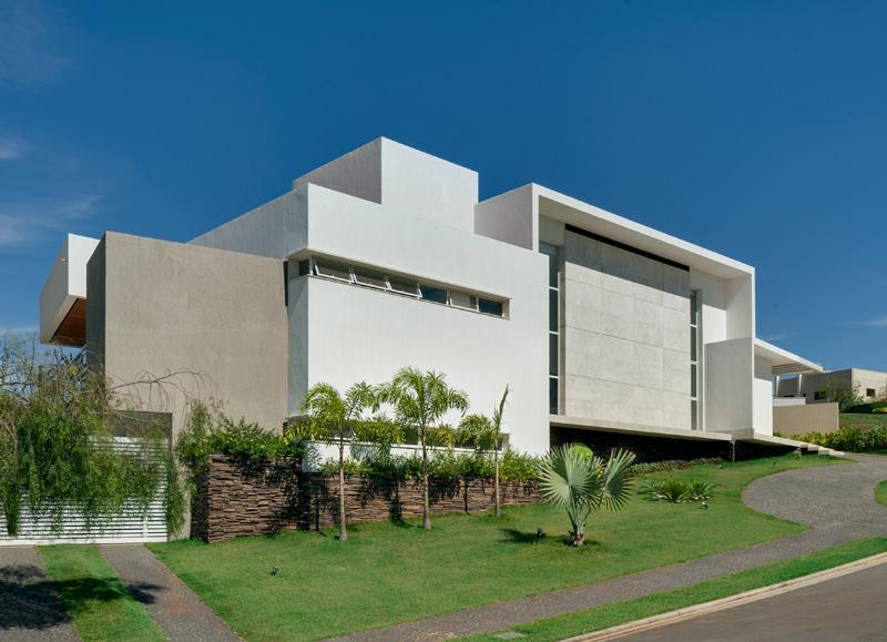 Brésil Hillside Home Façade
