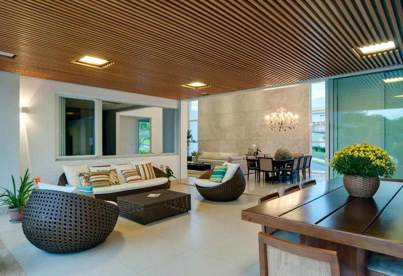 Brésil Hillside Home intérieur