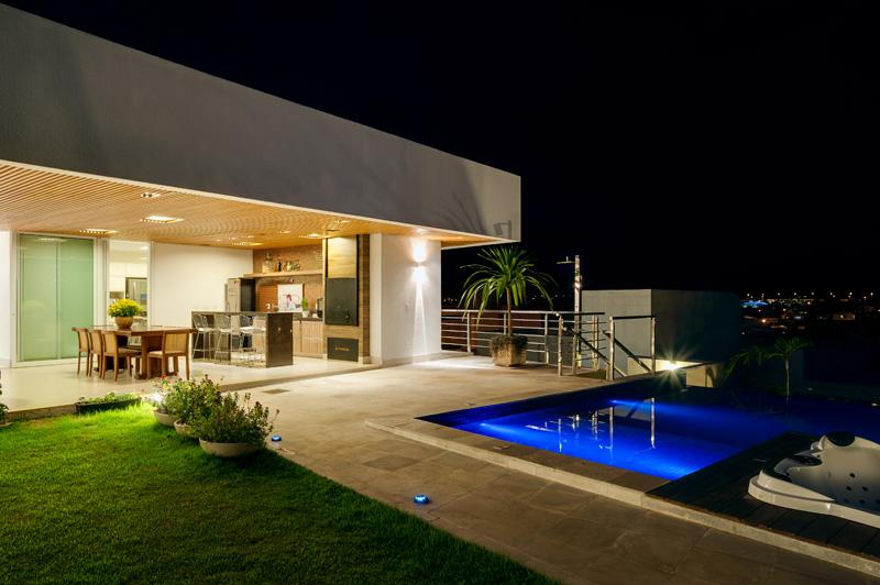 Brésil Hillside Home piscine