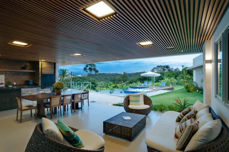 Brésil Hillside Home view