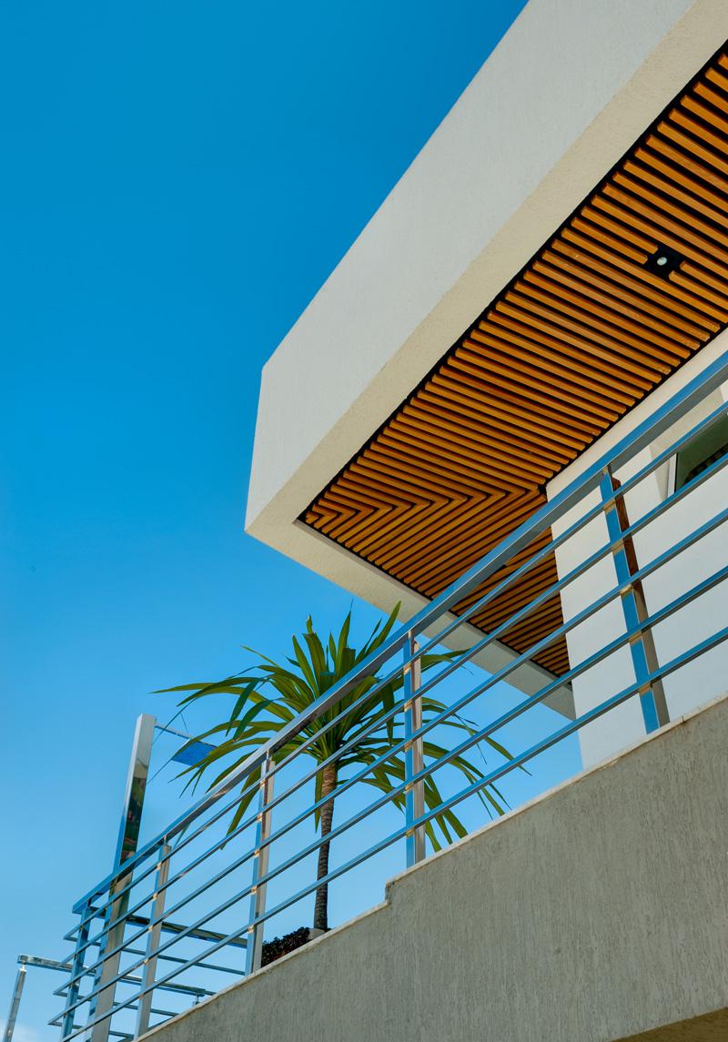Brésil Hillside Home terrasse