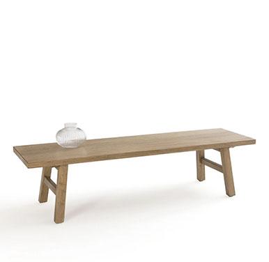 table basse en bois rustique