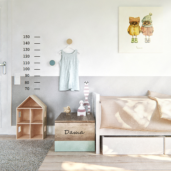 chambre à coucher design minimaliste