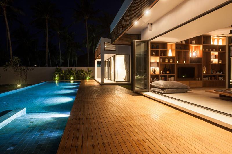 Lampes de piscine Malouna Villa