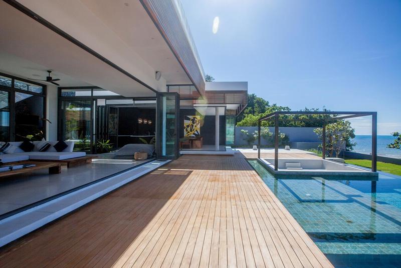 Malouna Villa piscine
