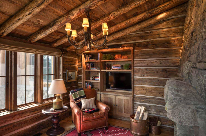 Rustic Mountain Home-Laura Fedro Interiors-09-1 Kindesign