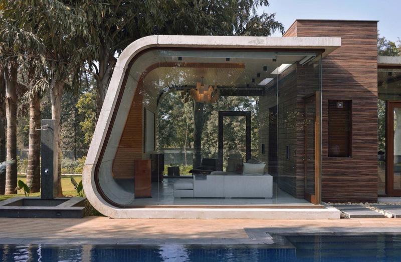 Pool House vivant