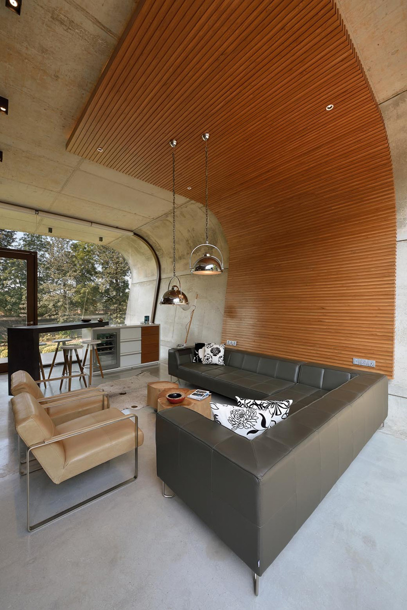 Îlot de cuisine Pool House