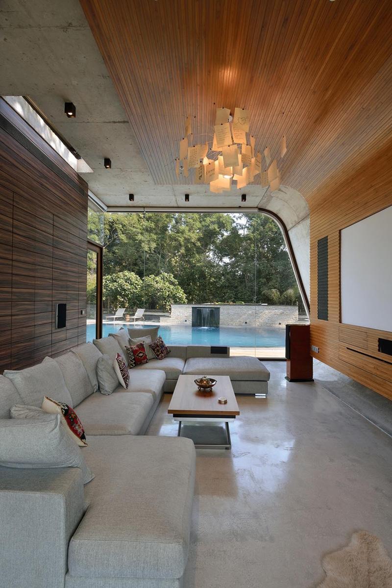 Chambre Pool House
