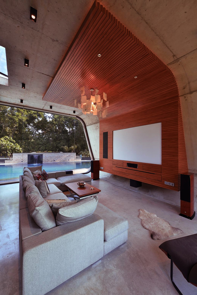 Salle de bain attenante au Pool House